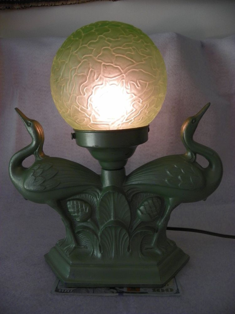 Table Lamp Lighting Art Nouveau