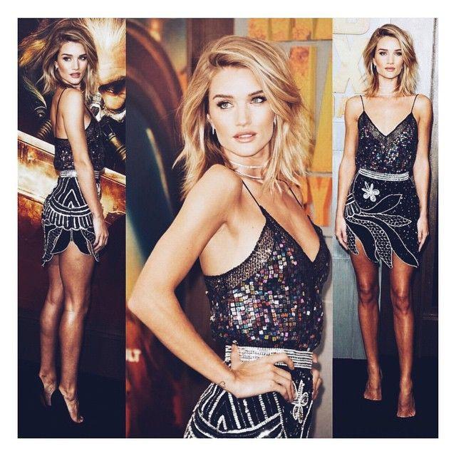 Last night @madmaxmovie premiere in Hollywood wearing @officialrodarte ❤️