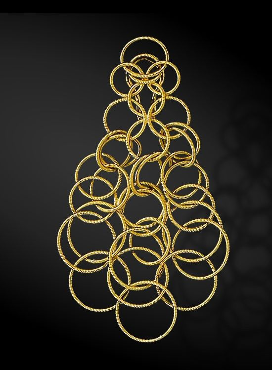 Opulent jewels and stunning silverware - Buccellati   SPRING 2013 #shopping #montenapoleone #jewels #buccellati