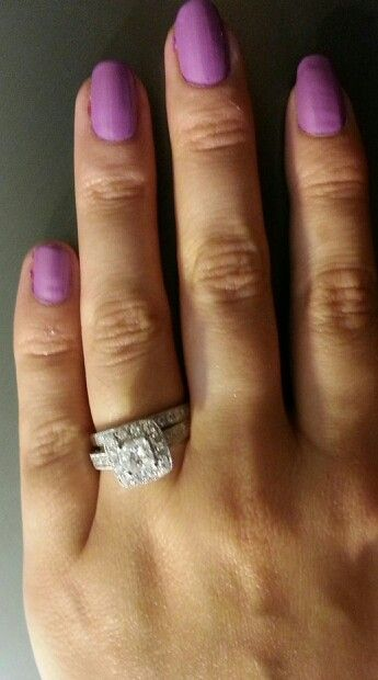 Finally, a new wedding ring after almost 16 years of marriage!  Yay.