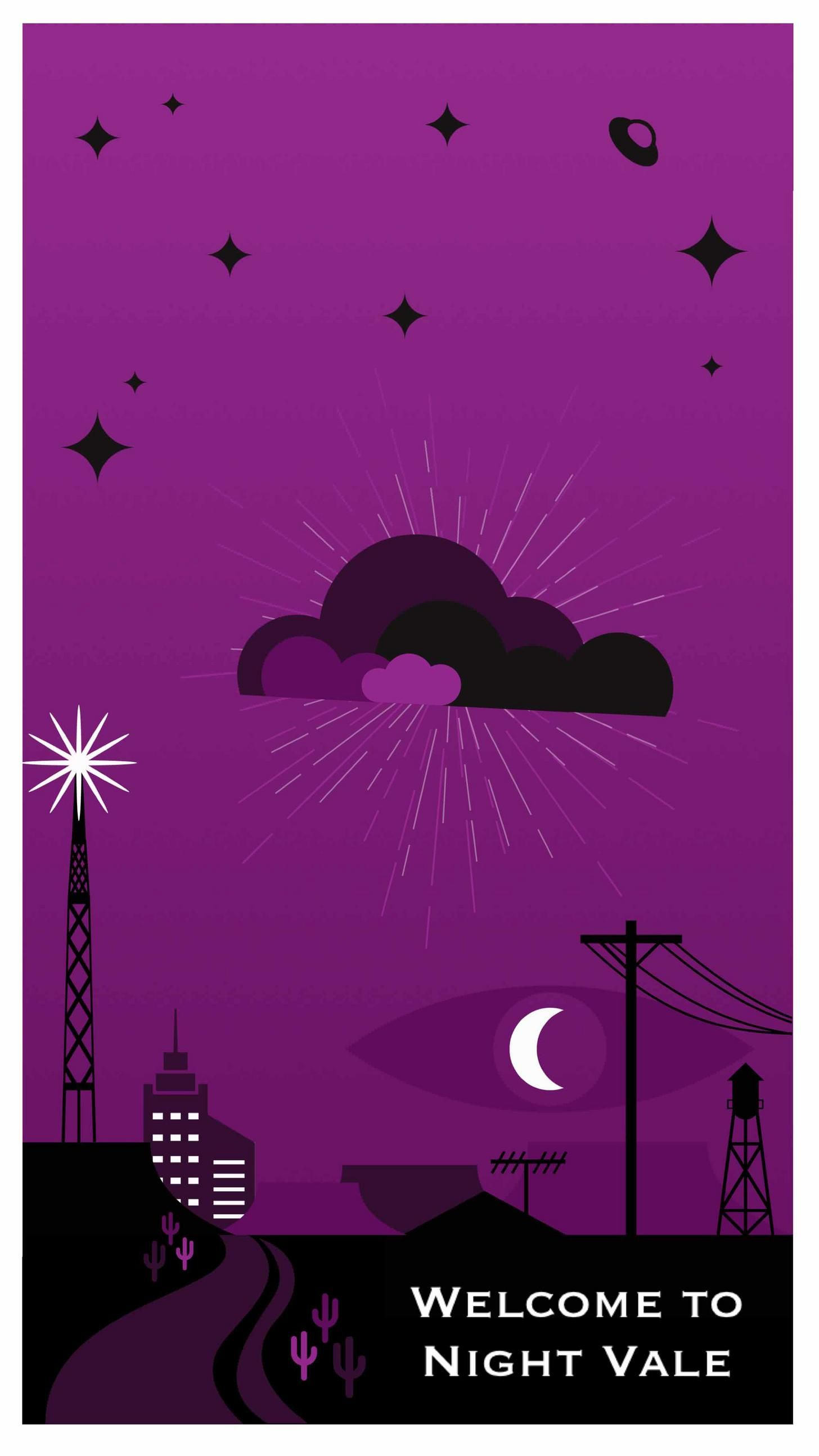 Night Vale Tourism Posters Night Vale Welcome To Night Vale Night Vale Presents