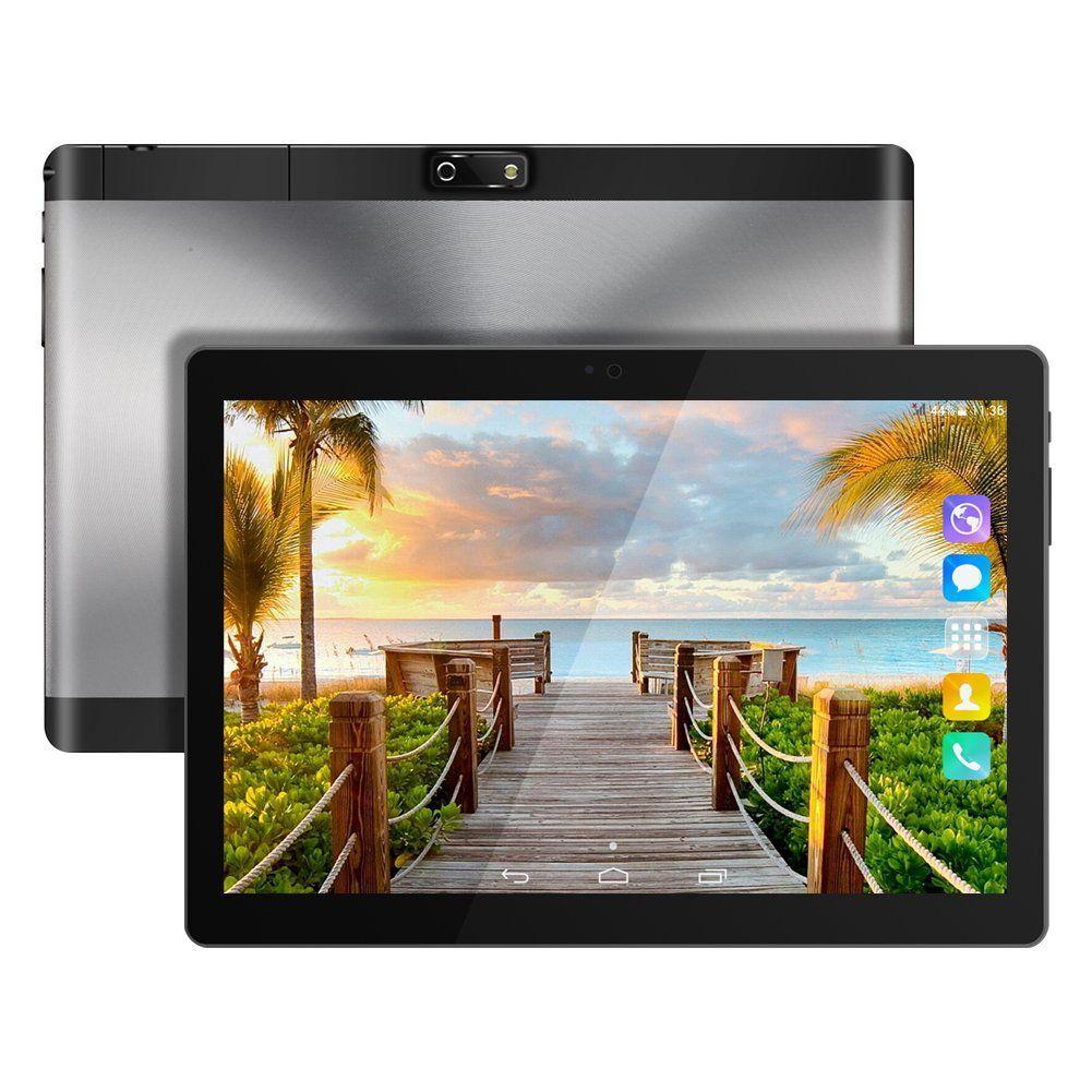 Kivors 10.1 pouces Tablette Tactile 3G -Android 6.0 MT6580 Quad Core ...
