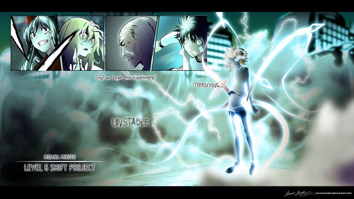 Misaka Mikoto Level 6 Transformation By Xanacondax A Certain