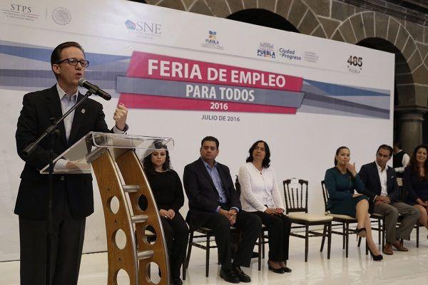 Registran crecimiento de empleo del 22% en Puebla: Banck