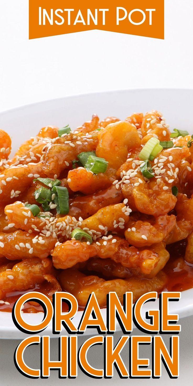 Instant Pot Orange Chicken #instantpotrecipes