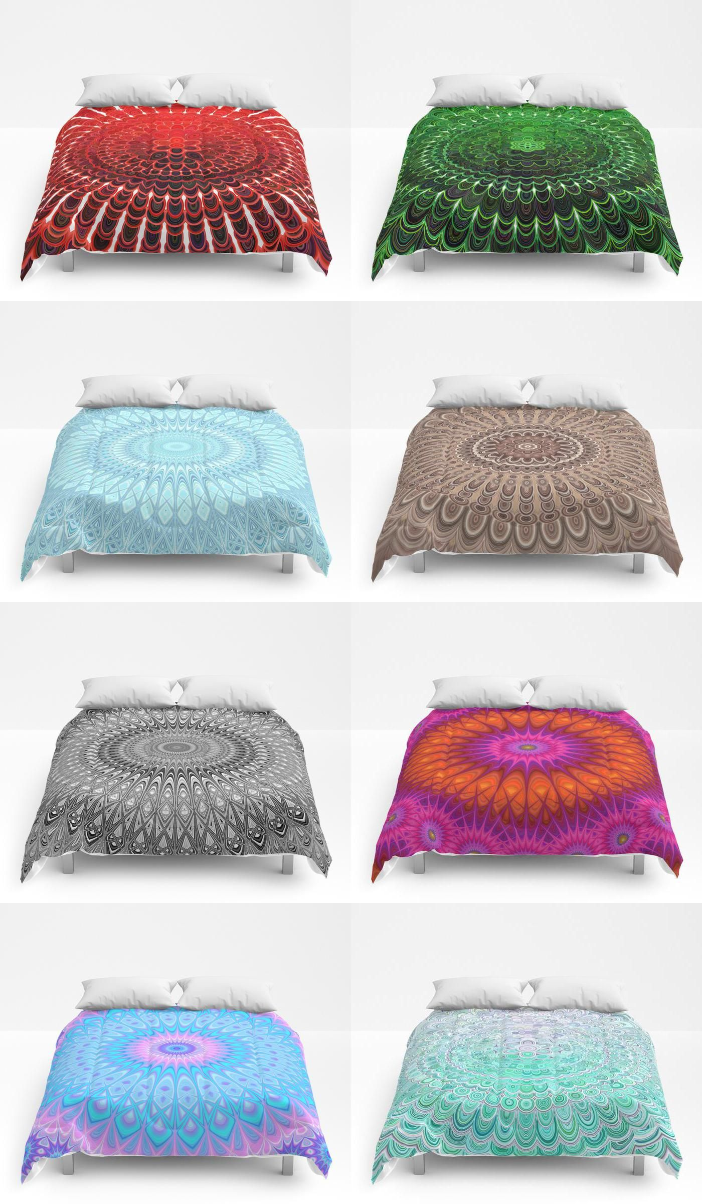 geometric mandala comforters giftideas decor graphic comforters