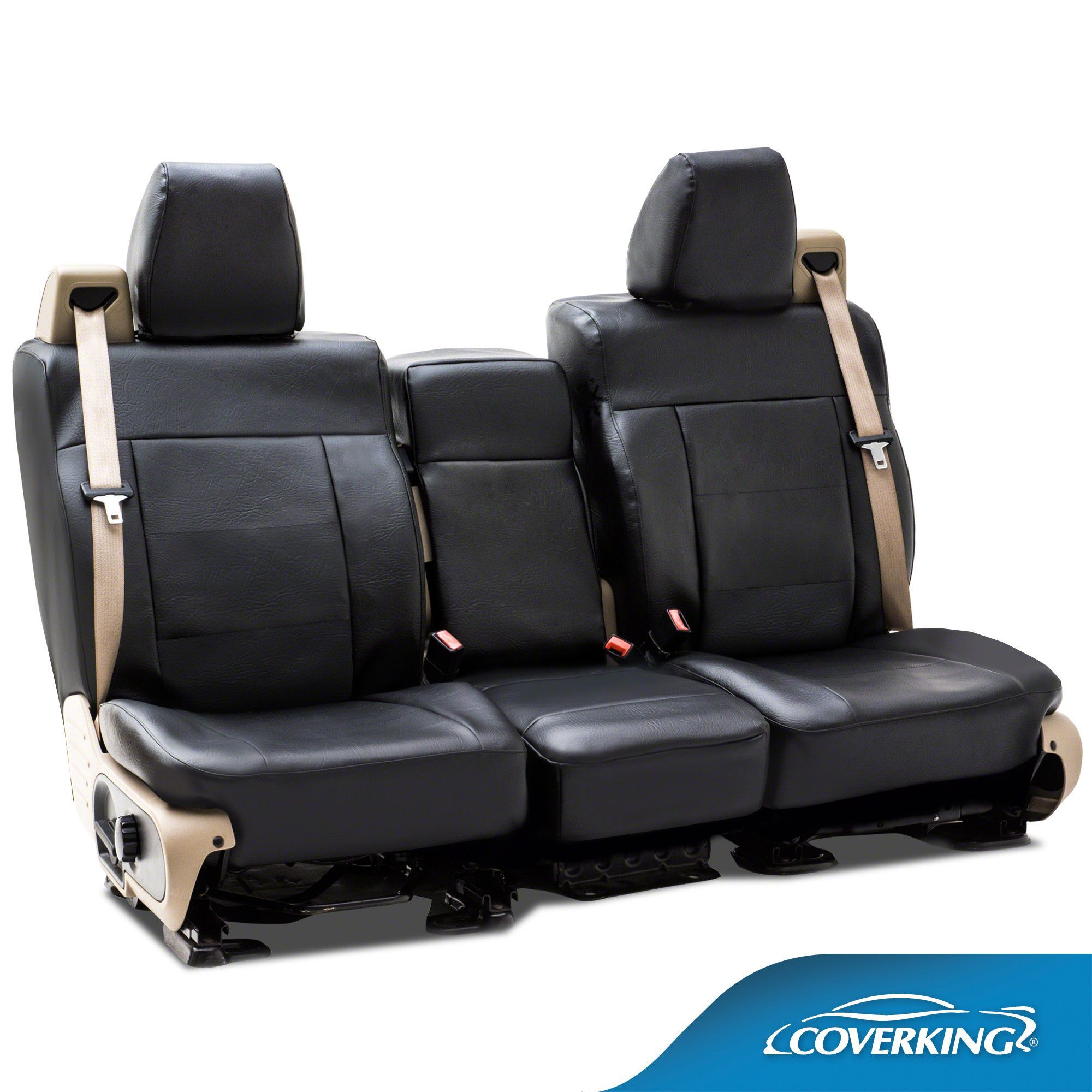 Coverking rhinohide custom fit front seat covers for chevrolet