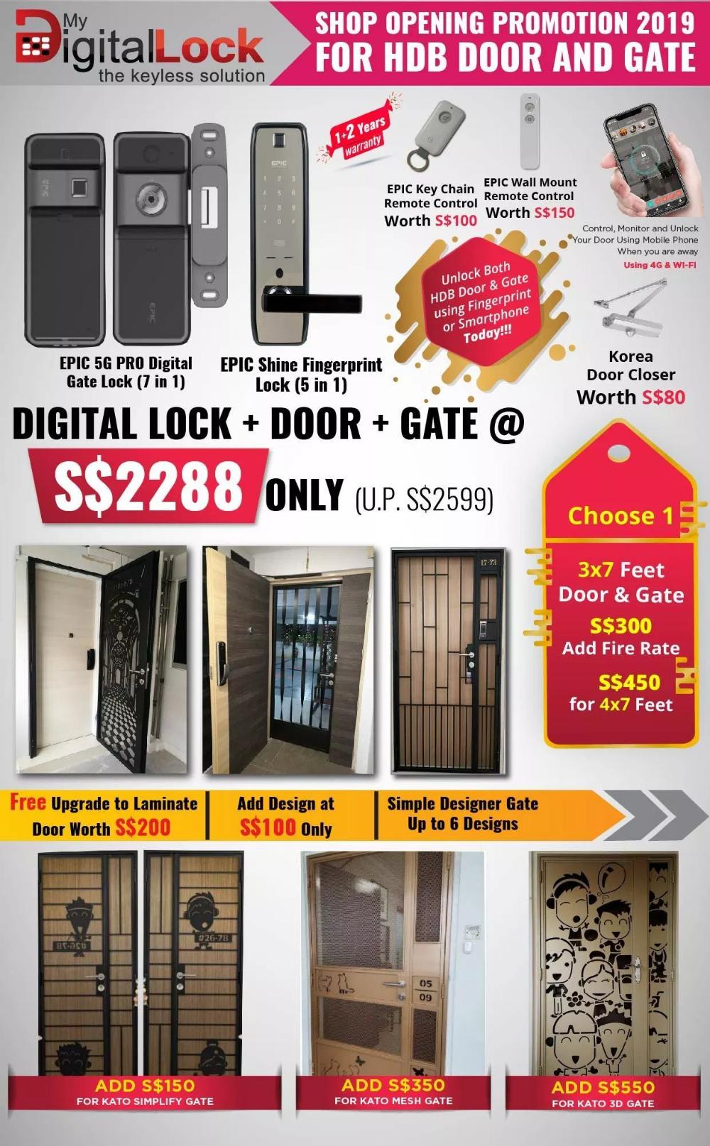 Door Factory Yishun Selling Laminate And Veneer Timber Hdb Bedroom Door At Lowest Price In Singapore With Yale Gat Bedroom Door Design Door Design Digital Lock