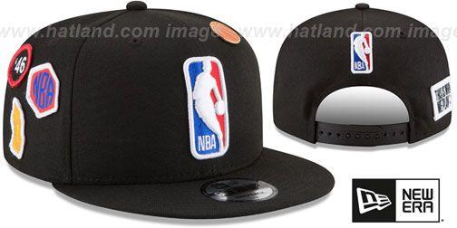 d79a4982c0310c Logoman 2018 NBA DRAFT SNAPBACK Black Hat by New Era   My Posh Picks ...