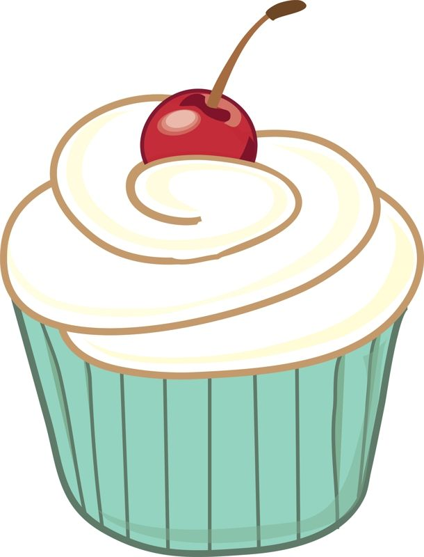 cupcake clipart free large images digital stationary pinterest rh pinterest com cupcake clipart 60th birthday cupcake clipart free