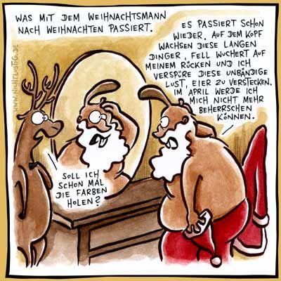 Weihnachten: Die Verwandlung | Unsinn Weihnachten: Lustig lustig ...