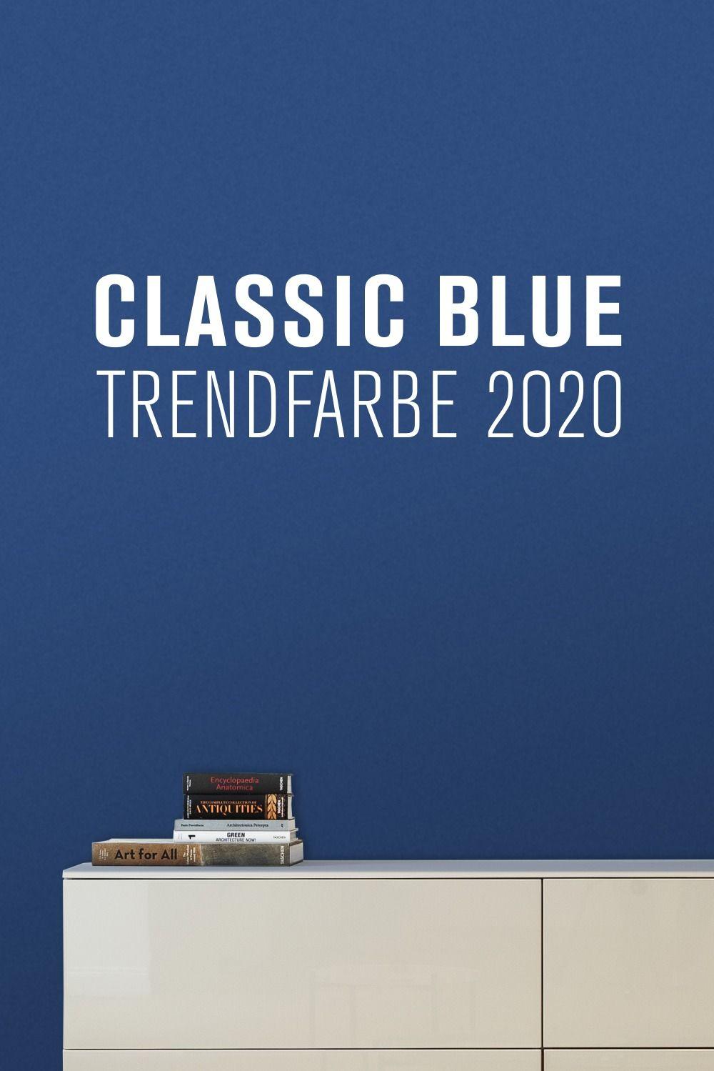 Pantone hat die Farbe des Jahres 2020 gewählt: Classic Blue �