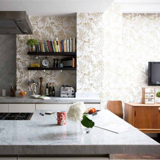 6 Kitchen Wallpaper Ideas We Love Images