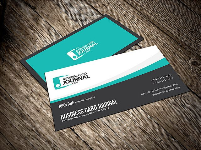 Smooth flowy creative business card template card templates premium business cards colourmoves