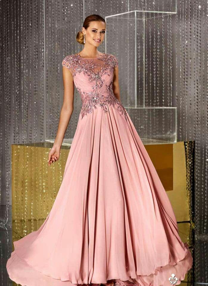 Pin de Mary Lou en Formal & Wedding Gowns | Pinterest | Vestiditos