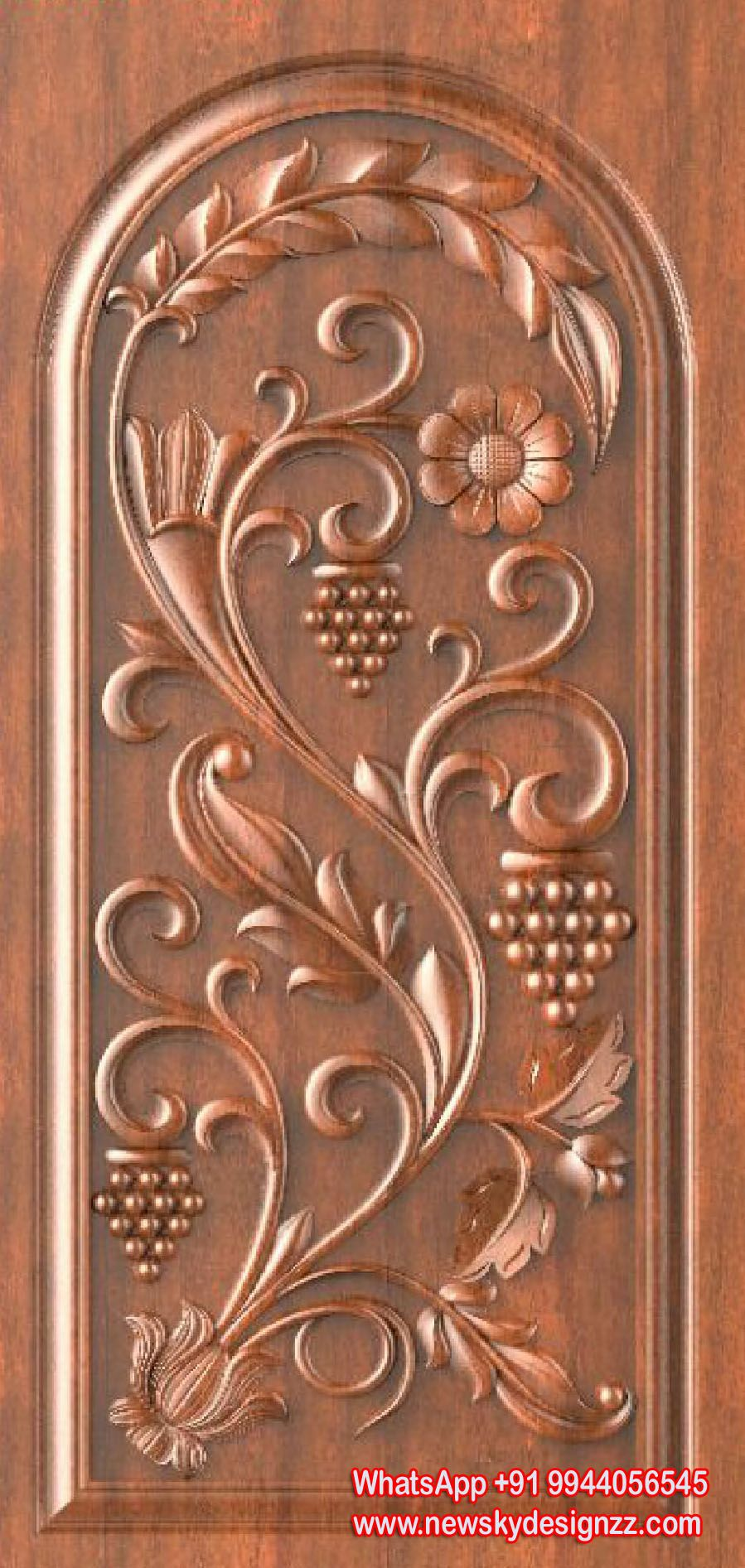 Tallados En Dibersos Main Door Design Front Door Design Wood
