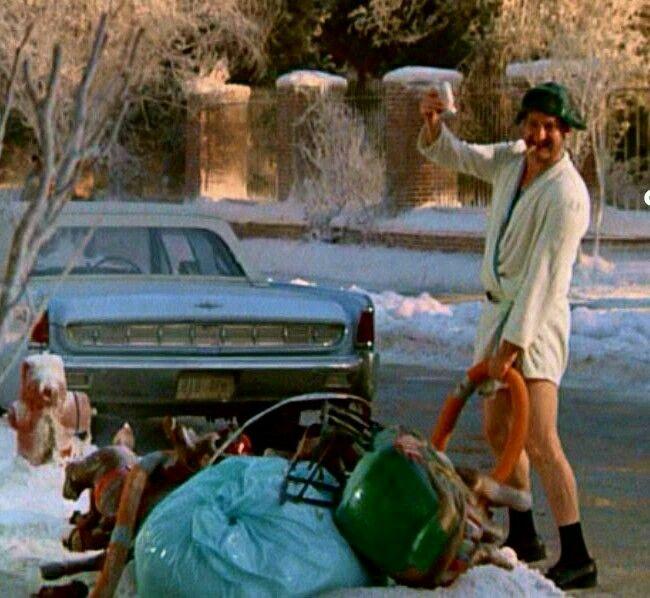 Christmas Vacation Santa Quotes: Shitter's Full !!! ... Randy Quaid .. National Lampoon's
