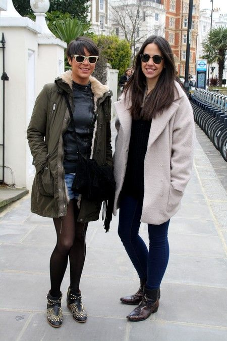 Spanish girls in london
