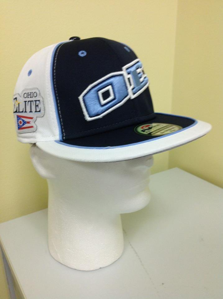 Front Of The Ohio Elite Travel Baseball Team In Dublin Oh Caps Done By Pukka Travel Baseball Baseball Team Elite