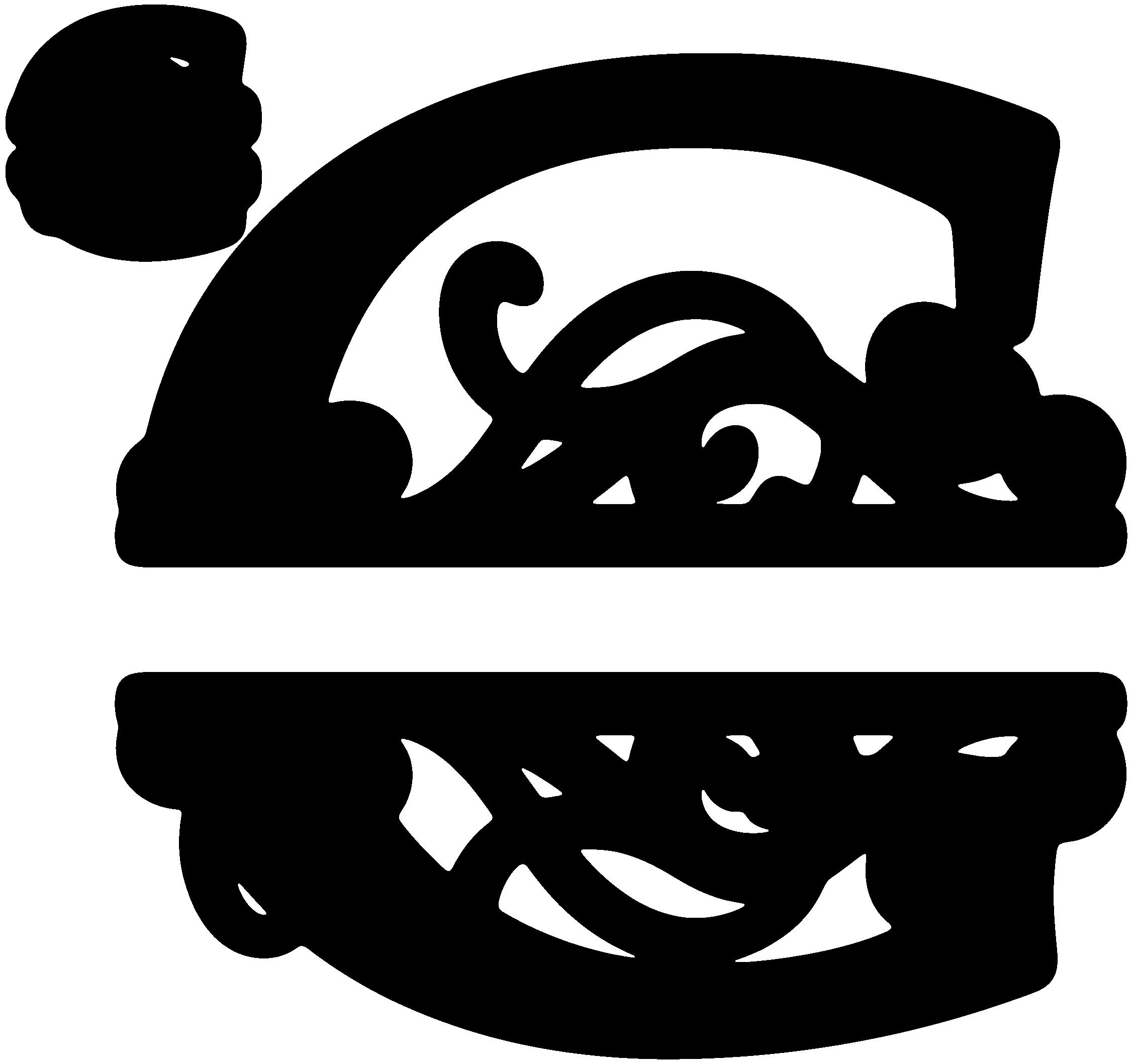Image result for Free SVG Split Monogram Font Cricut