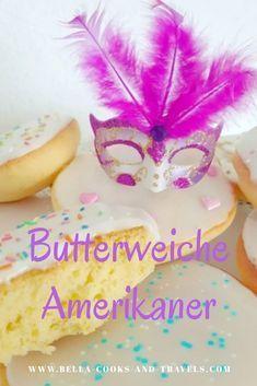 Mit diesem Rezept gelingen dir butterweiche Amerikaner, die musst du unbedingt probieren #fluffig #lecker #fasching #backen