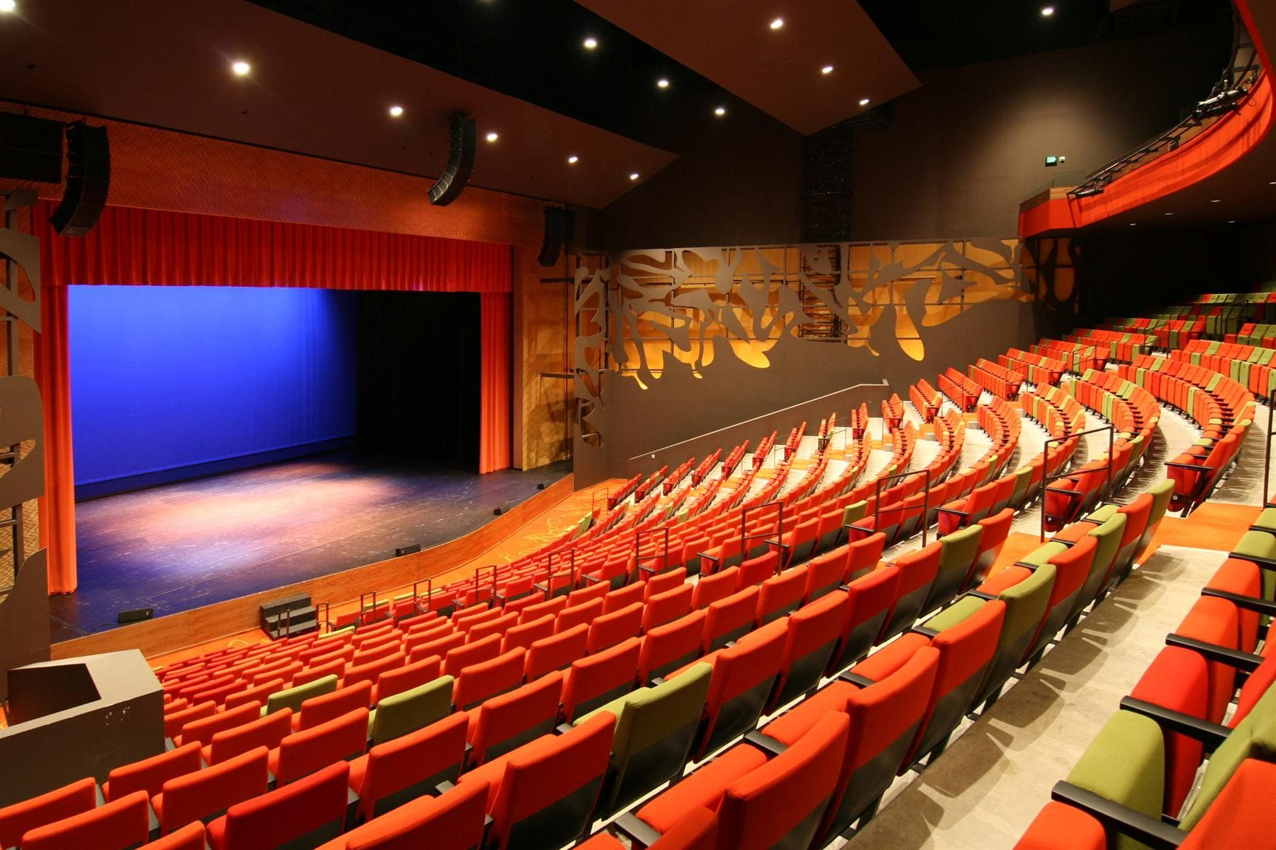 Ames center whether it be in the 1014seat masquerade