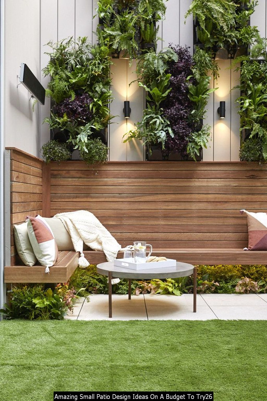 Cool Amazing Small Patio Design Ideas On A Budget To Try ... on Courtyard Ideas On A Budget id=44812