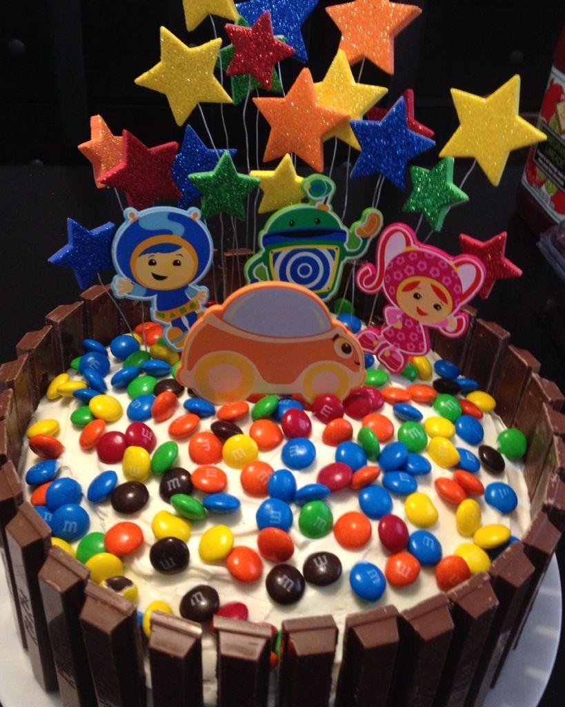 Team Umizoomi Cake Pops