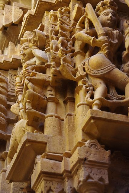 Jain Temple, Jaisalmer, India  - Explore the World with Travel Nerd Nici, one Country at a Time. http://travelnerdnici.com