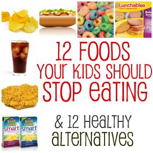 Stop Feeding Crap To Your Kids