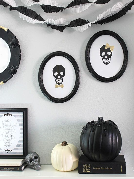 3-Step Halloween Decorations Traditional, Family search and Halloween - halloween decoration printouts