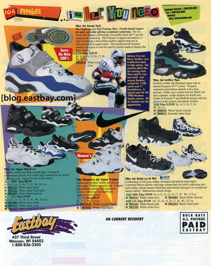 5814df585 Nike Training 1996. Find this Pin and more on Eastbay Memory Lane ...