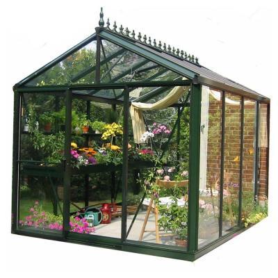 Exaco Royal Victorian 8 Ft X 10 Ft Greenhouse Vi 23 Pp3l Victorian Greenhouses Traditional Greenhouses Hydroponic Gardening