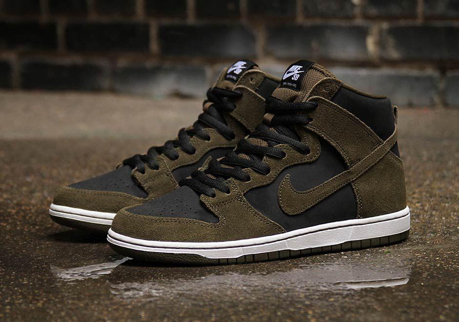 Nike SB Dunk High Dark Loden  742e62d698
