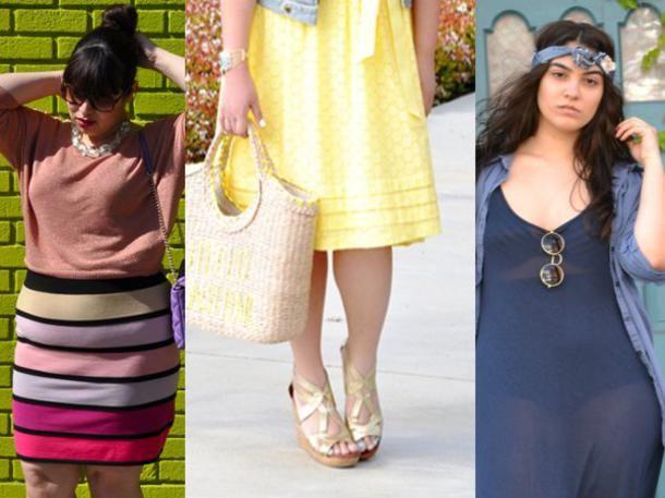 Size Zero war gestern, heute sind Kurven gefragt! Die neuen Stars unter den Bloggern zeigen was man trägt, und zwar nicht nur welchen Blazer oder welches Kleid, sondern auch welche Größe. Fehlendes Selbstbewusstsein? Keine Spur.