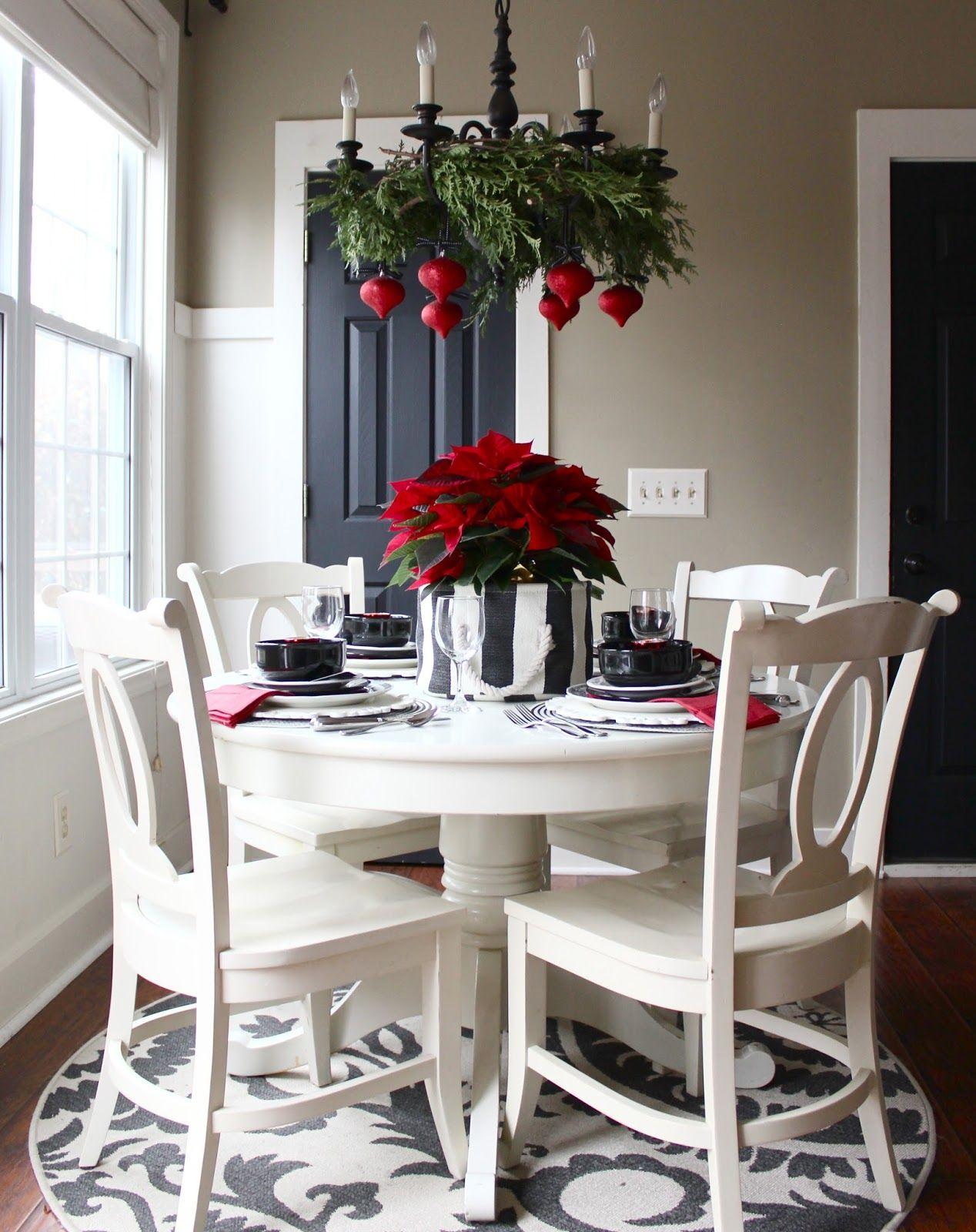 Christmas Home Tour 2014 Charming Breakfast Nooks