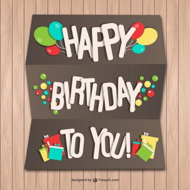 happy birthday card template tarjetas de cumpleaos