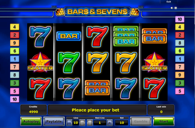 Play Sizzling Sevens Online