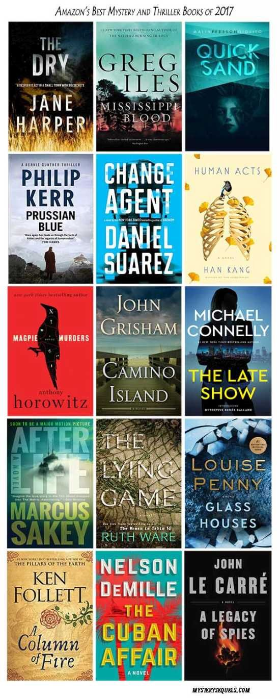 Amazon's best mysteries and thrillers for 2017 | Can't