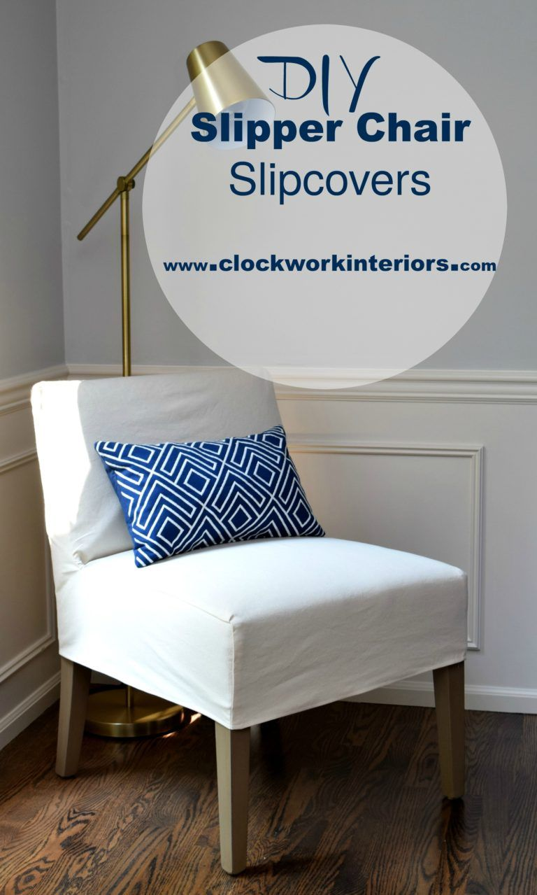 DIY Slipper Chair Slipcovers Slipcovers for chairs