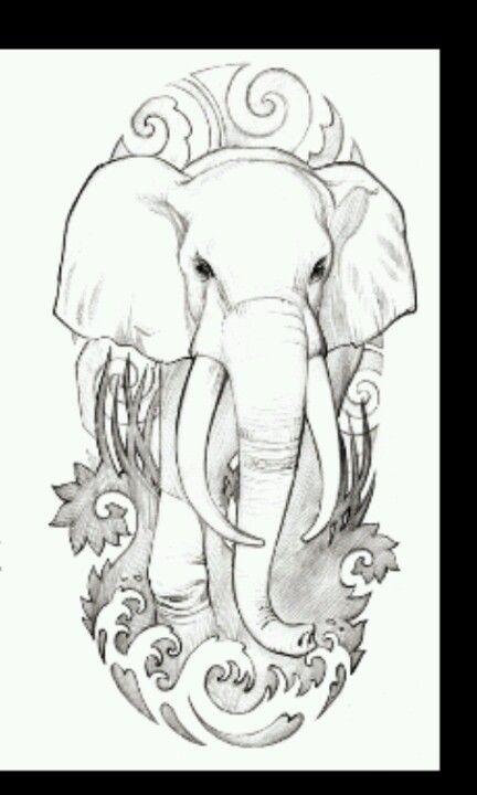 Elephant. Tattoo   Tattoos❤   Pinterest   Elefantes, Elefante ...
