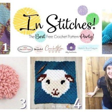 Berry Stitch Tutorial and Free Textured Crochet Washcloth Pattern #menscrochetedhats