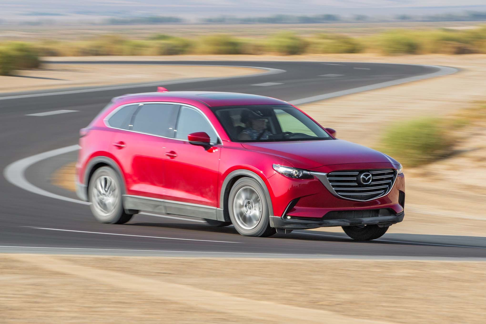 The mazda cx 9 is a 2017 motor trend suv of the year finalist