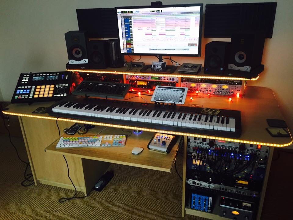 Pre Production Home Studio Music studio room, Recording