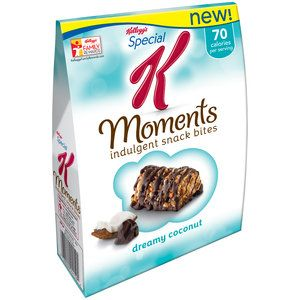 Kellogg's Special K Moments Dreamy Coconut Indulgent Snack Bites, 0.56 oz, 8 count