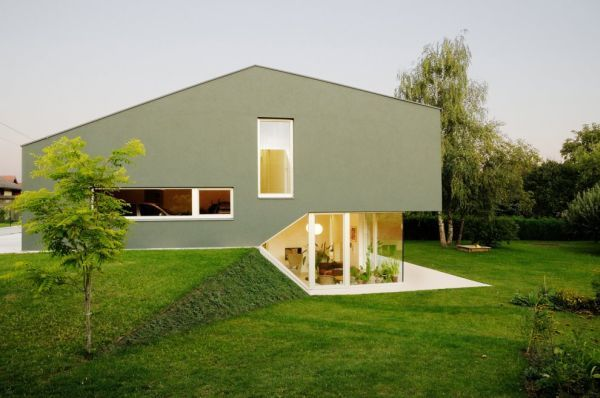 Prototype Split Level Residence By Andreas Karl Architecture