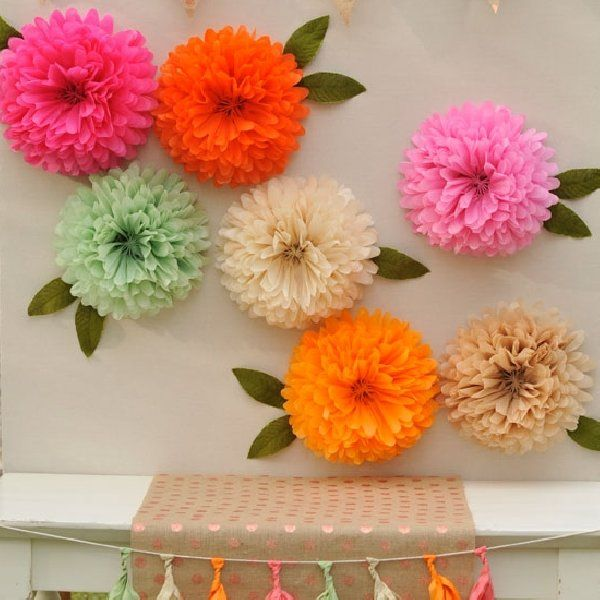 Floral fox tissue paper flower kit happy wish company babies floral fox tissue paper flower kit happy wish company mightylinksfo Image collections