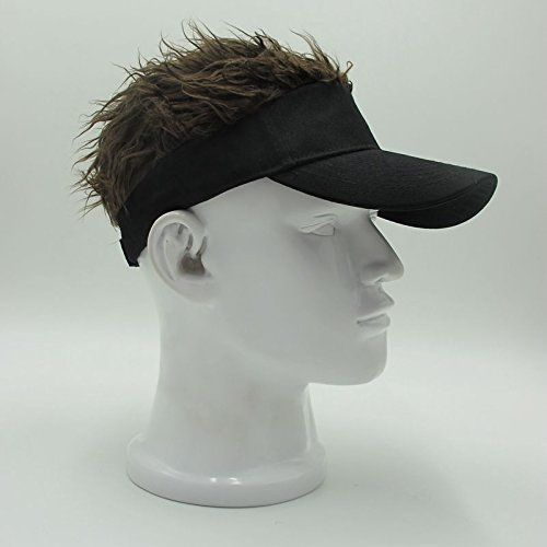 0866c4c4b4998c Discounted Oberora Novelty Sun Visor Cap Wig Peaked Adjustable Baseball Hat  with Spiked Hair #Misc. #Oberora #Oberora #Oberora #Oberora