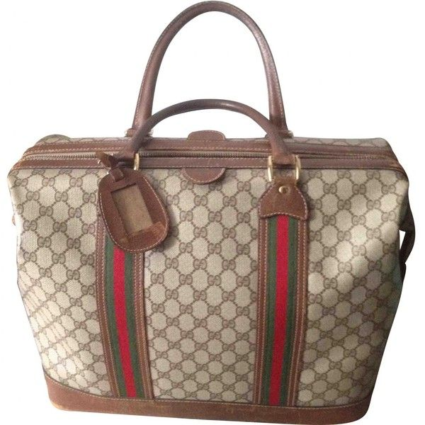 Gucci Pre-owned - Cloth travel bag