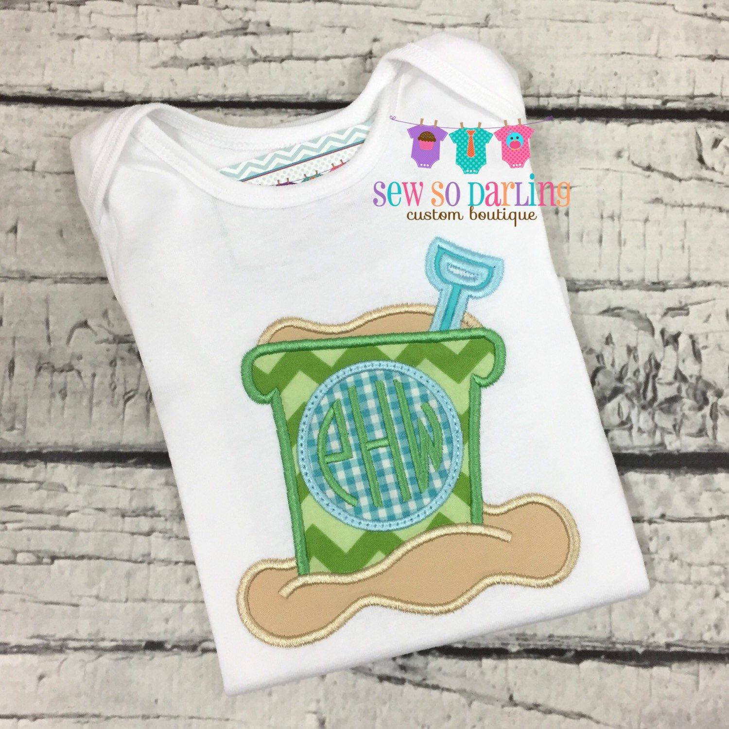 Baby boy monogram shirt Boy beach shirt Monogram summer outfit